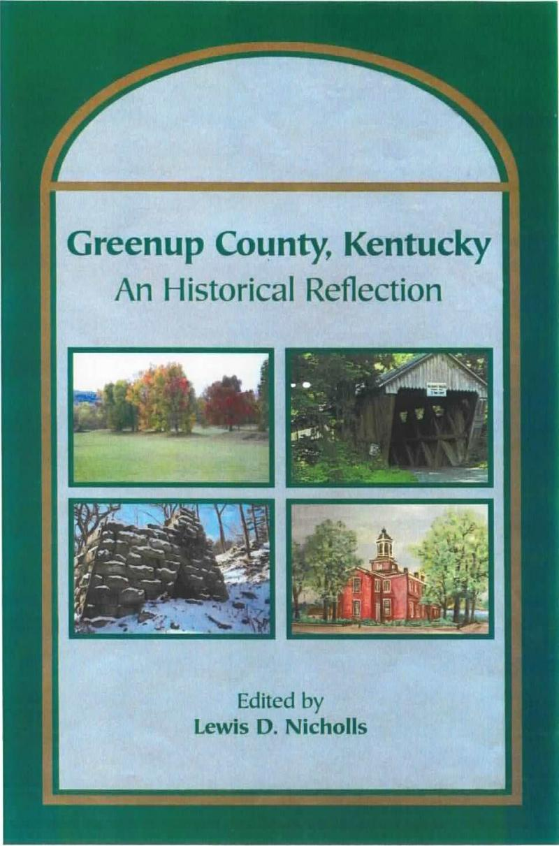 Greenup County History Book